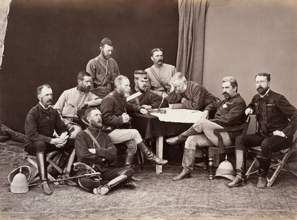 Quartermaster-General's Group, February 1880