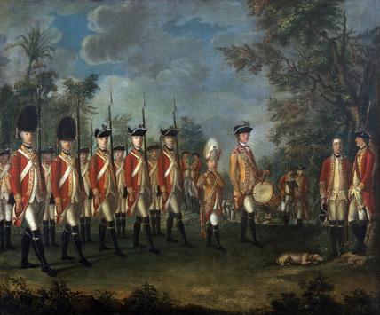25th Regiment of Foot, Menorca, 1771 (c)