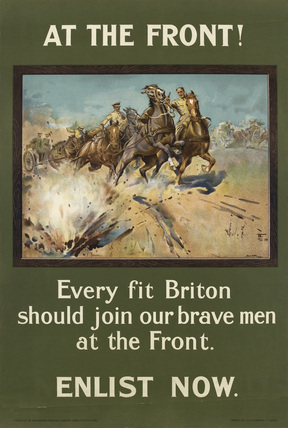 'At the Front!', 1915 (c)