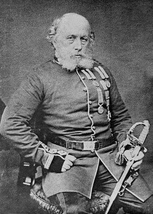 Surgeon Major William Brydon CB, 1864 (c)