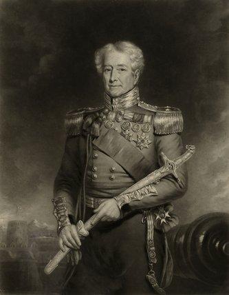 Major General Sir Robert H Sale, GCB, 1845 (c)