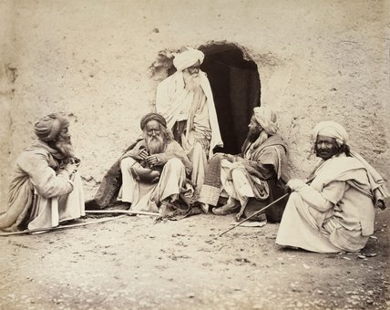 Group of Fakirs, 1880 (c)