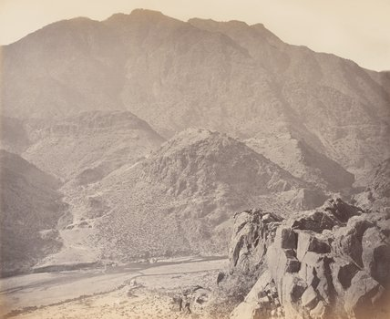 'Ali Masjid and surroundings', 1878