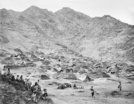 'Kutchi (Gipsy) Village and encampment near Dakka', 1878