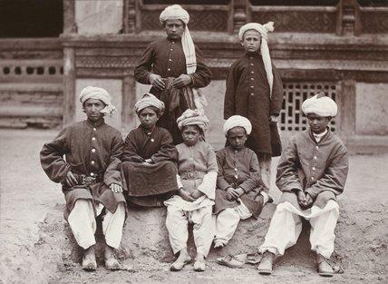 'Khaffiristan slaves', Kabul, 1880