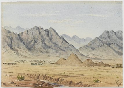 'The action of Shahjui. Afghanistan', 1879