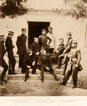 The Staff at Headquarters, 1855