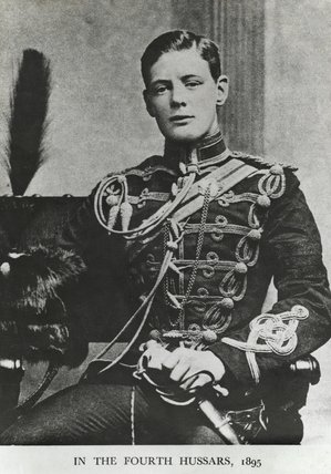 2/Lt Winston S Churchill, 4th Queen's Own Hussars, 1895