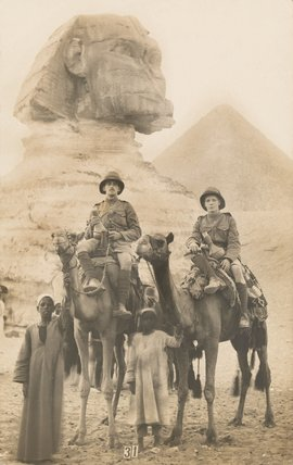 The Duke of Cambridge's Own (Middlesex Regiment), Giza, Egypt, 1915 (c)