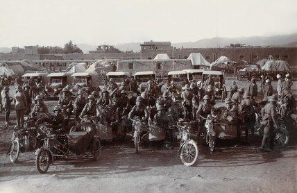 British Army transport, North West Frontier, 1919