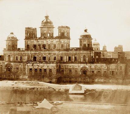 Chattar Munzil, Lucknow, 1858