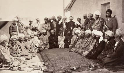 Munad Khani Group, Kabul, 1879