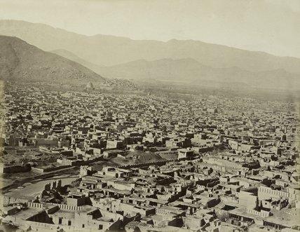 Kabul city, 1880