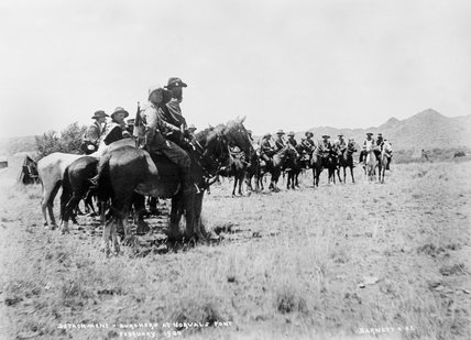 'Burghers at Norvals Pont', Boer Commando, South Africa, 1900