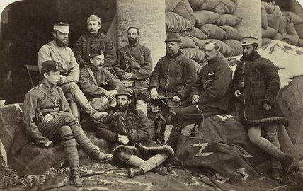 A group of British officers, Afghanistan, 1879 (c)