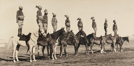 Indian horsemanship, 1938 (c)
