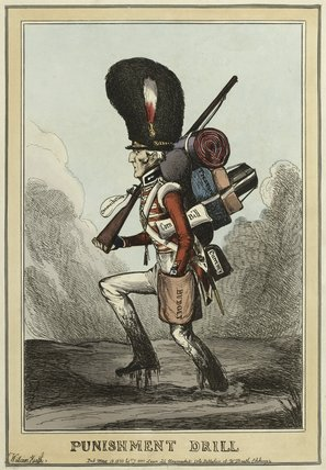 'Punishment Drill', 1830