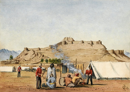British camp in Kandahar, 1879 (c)