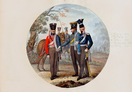 Russian Hussars and Lancers, 1807 (c)