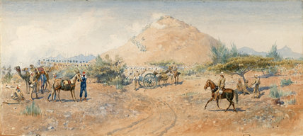 The fight at Hasheen, 1885