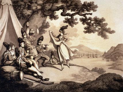 'Soldiers Recreating', 1798 (c)