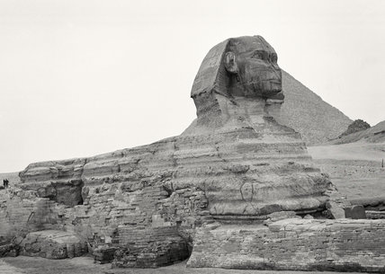 The Sphinx, Giza, Egypt, 1942 (c)