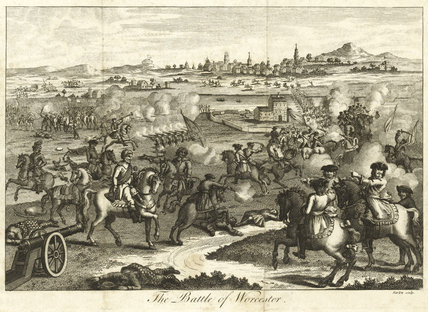 The Battle of Worcester, 1651
