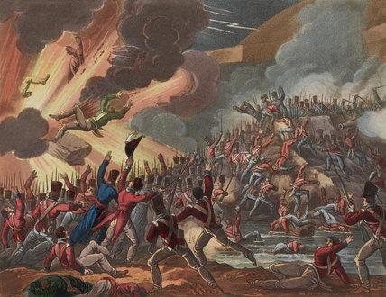 'Storming of St Sebastian, 31st Aug 1813'.