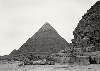 Pyramids, Giza, Egypt, 1943