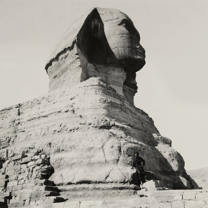 The Sphinx at Giza, 1942 (c)