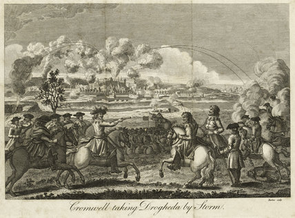 'Cromwell taking Drogheda by Storm', 1649