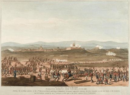 Siege of Badajoz, June 1811