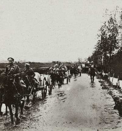 Artillery, Gommecourt, 1916