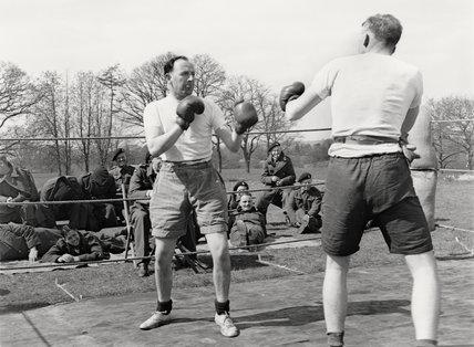 Boxing tournament, 1940-1941 (c)