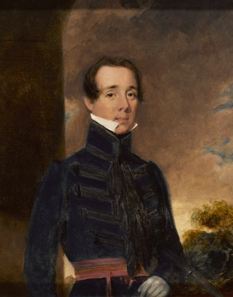 Lieutenant  George Briggs, Madras Artillery, 1832 (c)