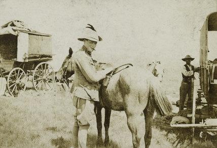 Winston Churchill, South Africa, 1900 (c)
