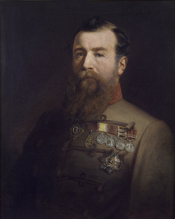 Brigadier General Sir Harry Burnett Lumsden CB, 1866 (c)