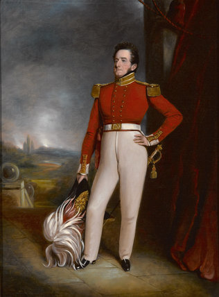 Colonel Jerry Francis Dyson, 18th (Bombay) Native Infantry, 1835 (c)