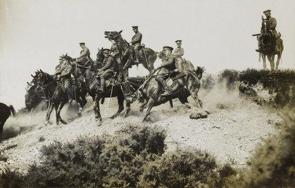 1st Reserve Regiment of Cavalry, Aldershot, 1914 (c)