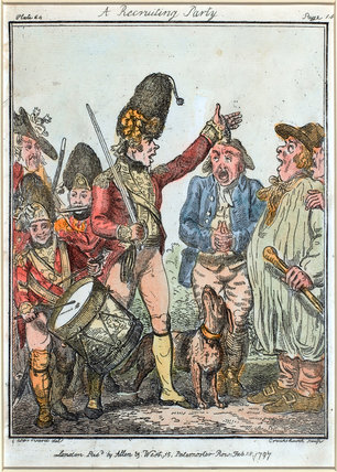 'A Recruiting Party, 1797'