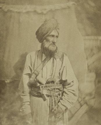 Pathan officer of the Punjab Irregular Cavalry, 1860 (c)