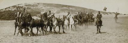 1st Reserve Regiment of Cavalry in training, Aldershot, 1914 (c)