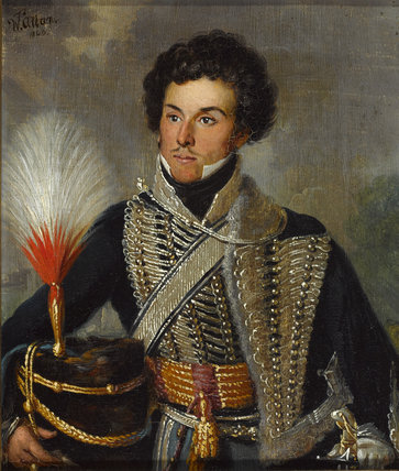 An officer of the 18th Regiment of (Light) Dragoons (Hussars), 1815 (c)