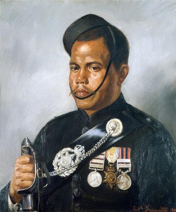 Jemadar Jangia Thapa, 5th Gurkha Regiment, 1890