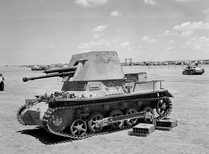 German Panzerjaeger I self-propelled gun, 1942 (c)