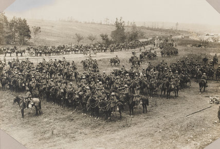 18th King George's Own Lancers near Mametz, on the Somme, 15 July 1916