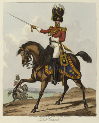 Officer, 2nd Life Guards, 1820