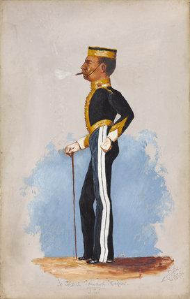 Lieutenant-Colonel Edward Napier, 6th Dragoon Guards, 1875
