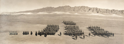 Hodson's Horse on parade at Loralai, 1938