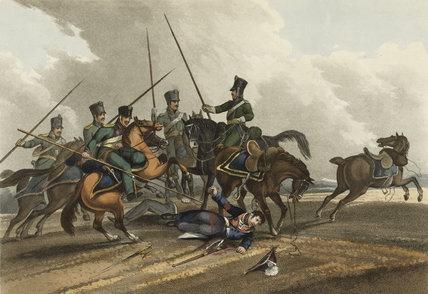 Death of Major General Sir William Ponsonby, 1815
